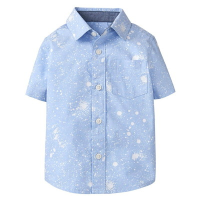 【USED】ペイントデザインシャツ