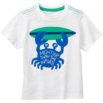 【USED】スラブデザインTシャツ