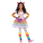 ハロウィンSPECIAL Girls Rainbow Unicorn Costume