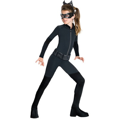 ハロウィンSPECIAL Girls Catwoman Costume - The Dark Knight Rises Batman