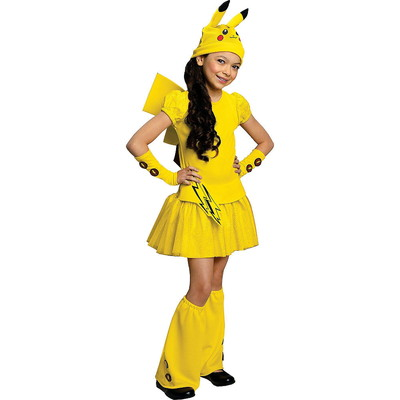 ハロウィンSPECIAL Girls Pikachu Costume Deluxe - Pokemon