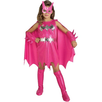 ハロウィンSPECIAL Girls Pink Batgirl Costume - Batman