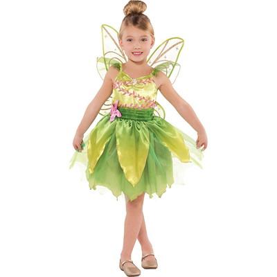 Girls Classic Tinker Bell Costume