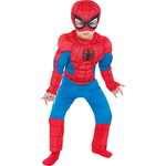 ハロウィンSPECIAL Toddler Boys Classic Spider-Man Muscle Costume