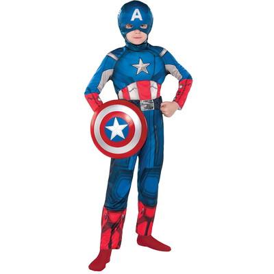Boys Captain America Classic Costume