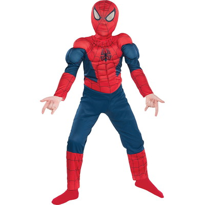 ハロウィンSPECIAL Boys Classic Spider-Man Muscle Costume