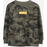 Cotton On Kids Tom Loose Fit Tシャツ / camo yardage/brave