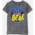 Cotton On Kids ショーツ Sleeve License1 Tシャツ / graphite wash/saved by the bell