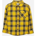 Cotton On Kids Noah Long Sleeve シャツ / golden glow check