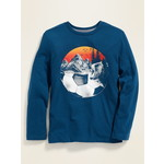 OLD NAVY / オールドネイビー Graphic Crew Neck Long SleeveTシャツ