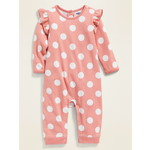OLD NAVY / オールドネイビー Printed Ruffle-Trim One-Piece for Baby