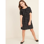 OLD NAVY / オールドネイビー Waist-Defined Scoop-Neck Dress