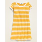 OLD NAVY / オールドネイビー Striped Rib-Knit Swing Dress