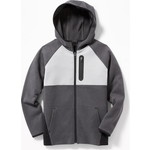 OLD NAVY / オールドネイビー Dynamic Fleece Color Block  Zip フーディー