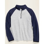 OLD NAVY / オールドネイビー Ultra Soft Breathe ON Go Dry 1/4 Zip プルオーバー