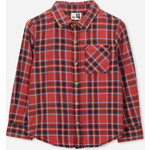 Cotton On Kids Noah Long Sleeve シャツ / rally red check sw