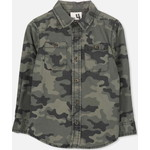 Cotton On Kids Noah Long Sleeve シャツ / camo