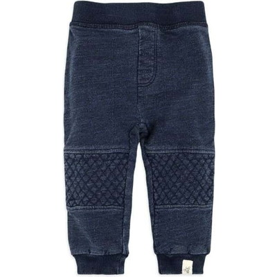 French Terry Denim Wash Organic Babyパンツ