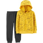 carter's / カーターズ 2-Piece Construction Pullover Hoodie & Jogger Set