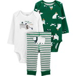carter's / カーターズ 3-Piece Polar Bear Little Character セット