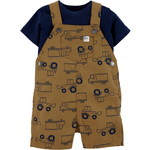carter's / カーターズ 2-Piece Tee & Truck Shortalls Set