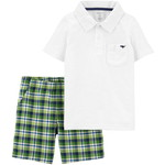 carter's / カーターズ 2-Piece Polo Shirt & Short セット