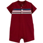 carter's / カーターズ Striped Jersey ロンパース