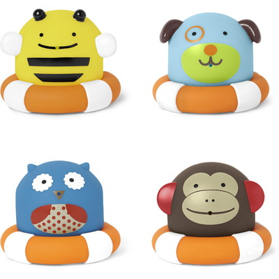 Zoo Bath Toys Squirties