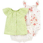 carter's / カーターズ 3-Piece Floral Little Short セット