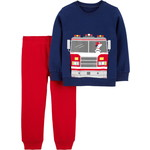carter's / カーターズ 2-Piece Firetruck Fleece Top & Jogger セット