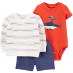 carter's / カーターズ 3-Piece Whale Little Short セット