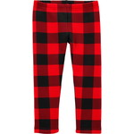 carter's / カーターズ Buffalo Check Cozy Fleece-Lined レギンス