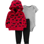 carter's / カーターズ 3-Piece Woodland Creatures Little Jacket Set