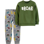 carter's / カーターズ 2-Piece Dinosaur Fleece Top & Jogger Set
