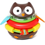 Skip Hop / スキップホップ Explore & More Rocking Owl Stacker Toy