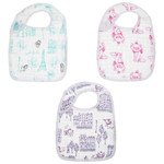 aden+anais Disney Cotton Bibs (3 Pack)