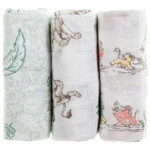aden+anais Disney Cotton Muslins (3 Pack)