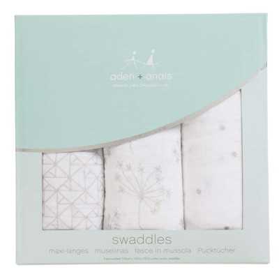 aden+anais Deco Swaddle Blanket (3 Pack)