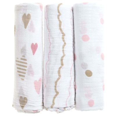 aden+anais Cotton Muslin Cloths (3Pk)