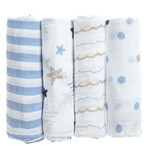 aden+anais Muslin Swaddle Blankets (4Pk)