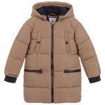 Mayoral/マヨラル Boys Beige Hooded Puffer コート