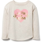 Crazy8 / クレイジー8(ベビー服とキッズ服) toddler beautiful like mommy Tシャツ / オートミール