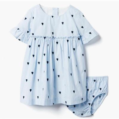 【即日発送可能】Heart Striped ドレス