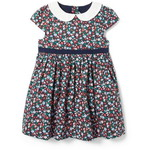 Janie and Jack/ジャニーアンドジャック Baby Floral Collared Dress