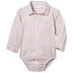 Janie and Jack/ジャニーアンドジャック Baby Plaid Bodysuit