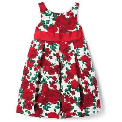 フローラル ジャカール ドレス