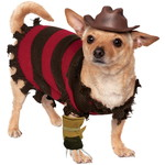 ハロウィンSPECIAL Freddy Krueger Dog Costume - A Nightmare on Elm Street