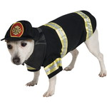ハロウィンSPECIAL Fire Fighter Dog Costume