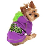 ハロウィンSPECIAL Purple Li'l Monster Dog Hoodie
