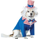 ハロウィンSPECIAL Uncle Sam Dog Costume